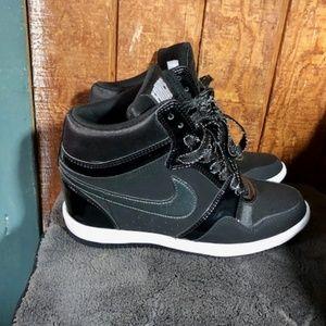 Nike Force Sky High Hidden Wedge Sneaker Size 8.5